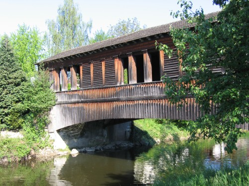 Holzbrücke bei Eriskrich