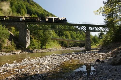 Drei Brücken über die Bregenzer Ach