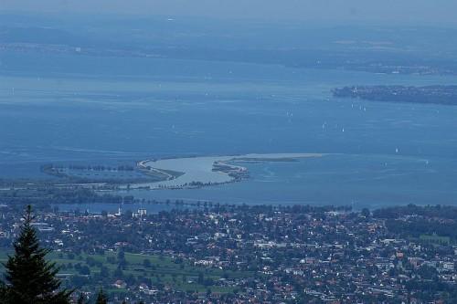 Rheinmündung bei Hard