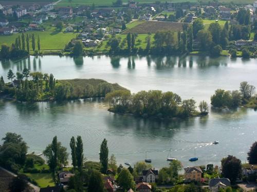 Seeausfluss am Bodensee