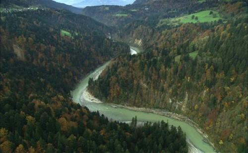 Unterlauf der Bregenzer Ach